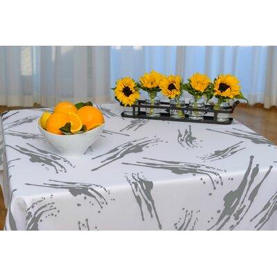 Splatter Eco Modern Tablecloth TC-013-BLK-60
