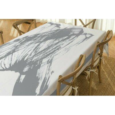 Vivid Eco Modern Tablecloth TC-042-GRY-90