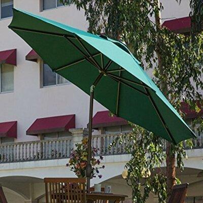 9 Market Umbrella Fabric: Dark Green