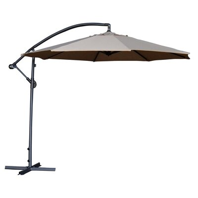 10 Cantilever Umbrella Color: Ivory