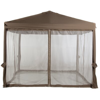 Abba Patio 10 Ft. W X 10 Ft. D Steel Pop-up Canopy