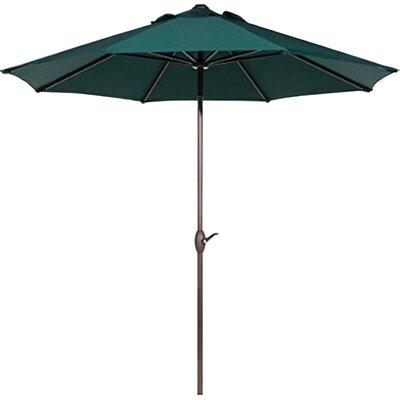 9' Market Umbrella Fabric: Dark Green AP9388CTBG