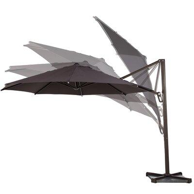 11 Cantilever Umbrella Color: Chocolate
