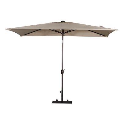 6.7 x 9.9 Rectangular Market Umbrella Fabric: Beige