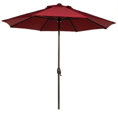 11 Market Umbrella Fabric: Red