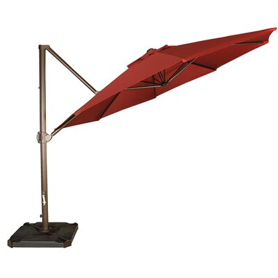 11 Cantilever Umbrella Fabric: Red
