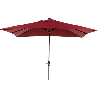 7 x 9 Rectangular Illuminated Umbrella