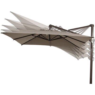 10 Square Cantilever Umbrella