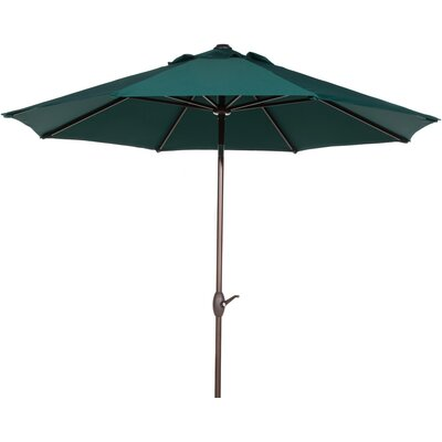 9 Market Umbrella Color: Dark Green