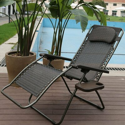 Oversized Zero Gravity Recliner with Detachable Drink Tray