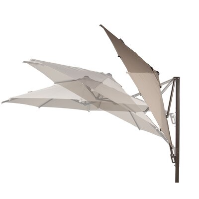 11 Cantilever Umbrella Color: Tan