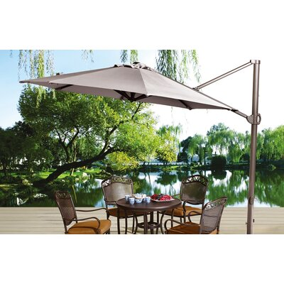 11 Cantilever Umbrella Fabric: Tan