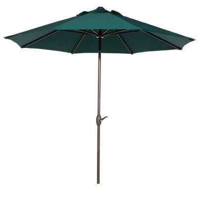 9' Market Umbrella Color: Dark Green AP9388CTADG