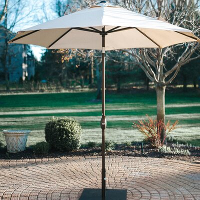 9' Market Umbrella Fabric: Beige AP9388CTBNB