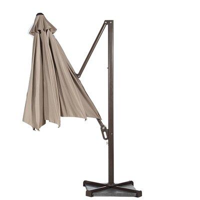 Image of 11' Cantilever Umbrella Color: Tan