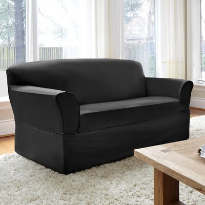 Dorchester Box Cushion Loveseat Slipcover