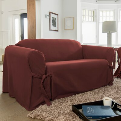 Muskoka Box Cushion Loveseat Slipcover