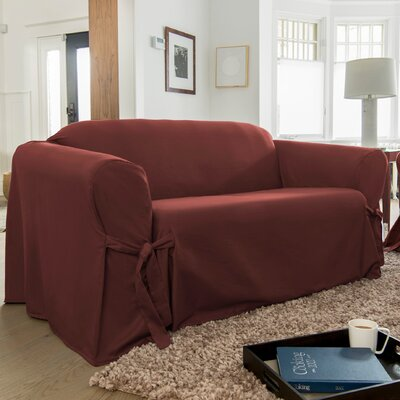 Muskoka Sofa Skirted Slipcover