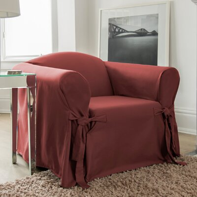 Muskoka Box Cushion Armchair Slipcover