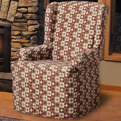 Ayla T-Cushion Wingback Slipcover