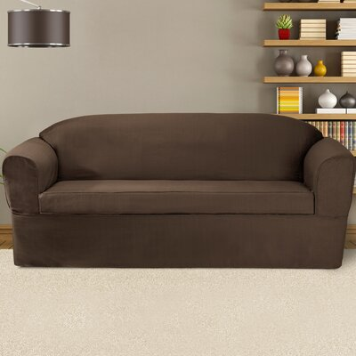 Bayleigh Sofa Cushion Slipcover Color: Bark