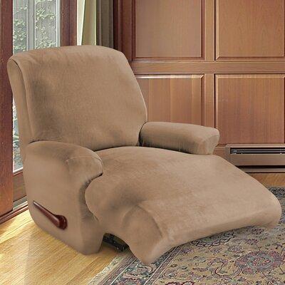 Kensington Recliner Slipcover Upholstery: Biscuit