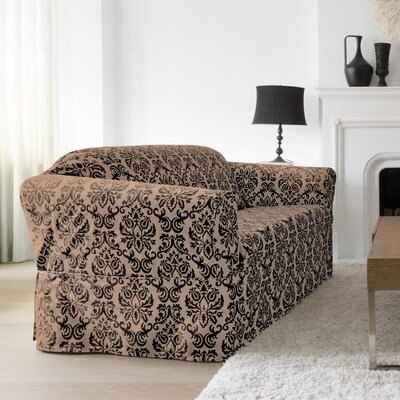 Chelsea Box Cushion Loveseat Slipcover