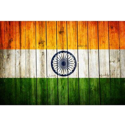 'India National Patriotic Flag' Painting Print DF1218MP_India