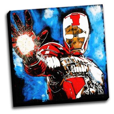 'Iron Man' Graphic Art on Canvas SA2020_Iron_Man