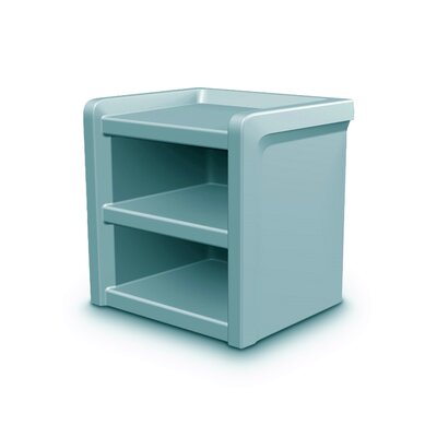 Endurance Nightstand Color: Blue/Gray