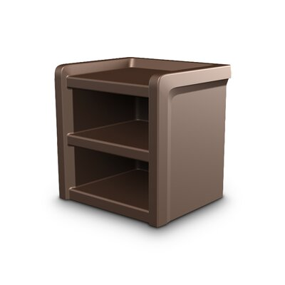 Endurance Nightstand Color: Brown