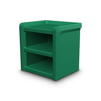 Endurance Nightstand Color: Green