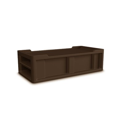 Endurance Platform Bed Upholstery: Brown