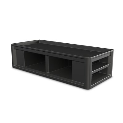 Endurance Platform Bed Color: Black