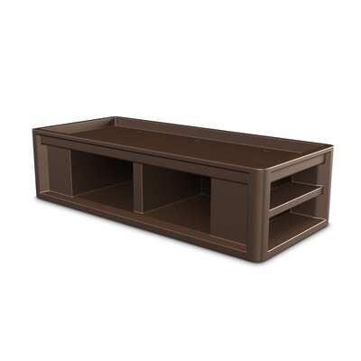 Endurance Platform Bed Color: Brown