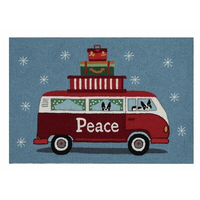 Area Rug Finish: Holiday highway peace
