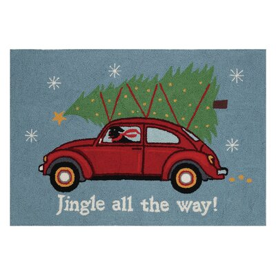 Area Rug Finish: Holiday highway jingle