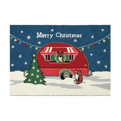 Area Rug Finish: Christmas camper