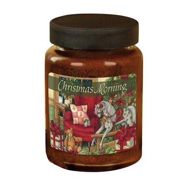 Christmas Morning Candle Jar