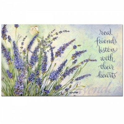 Lavender Doormat