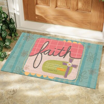 Sufficient Faith Doormat