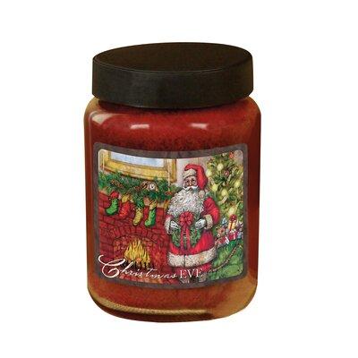 Christmas Eve Candle Jar