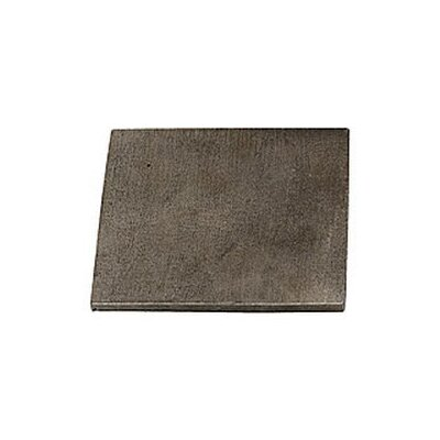 Shaker 4 x 4 Pewter Hand-Painted Tile in Natural Pewter