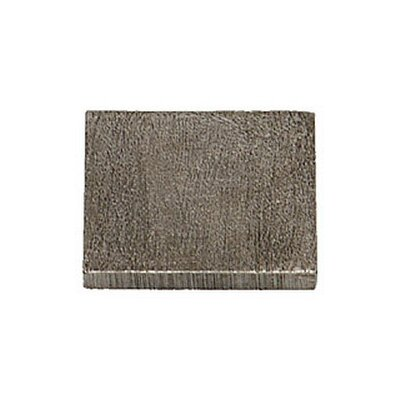 Shaker 2 x 2 Pewter Hand-Painted Tile in Natural Pewter