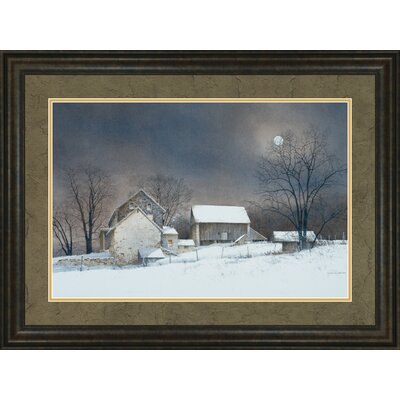 New Moon by Ray Hendershot Framed Photographic Print 1960