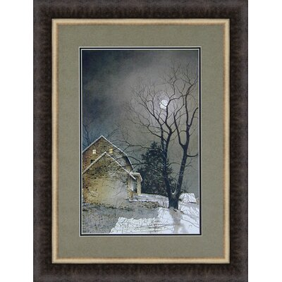 Working Late by Ray Hendershot Framed Photographic Print 3524