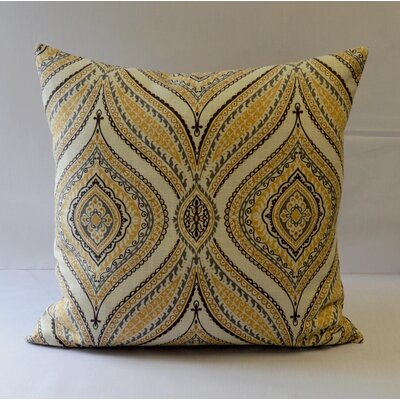 Carnival Throw Pillow Color: Gray