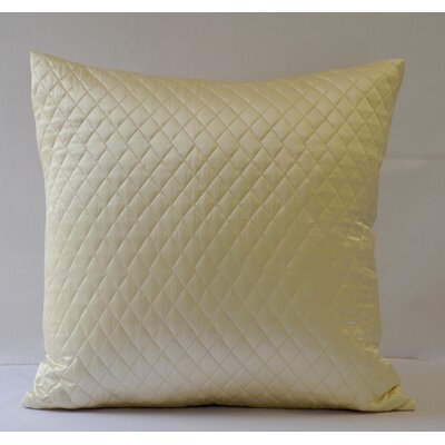 Silk Diamond Throw Pillow