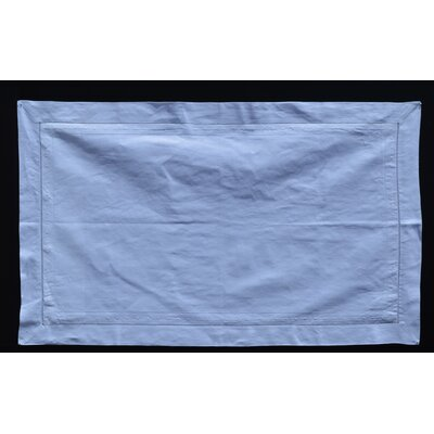 Swiss Dot Linen Sham Size: 20 H x 35 W