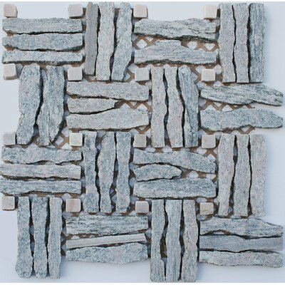Landscape Wonder  Random Sized Natural Stone and Granite Mosaic Tile in Gray